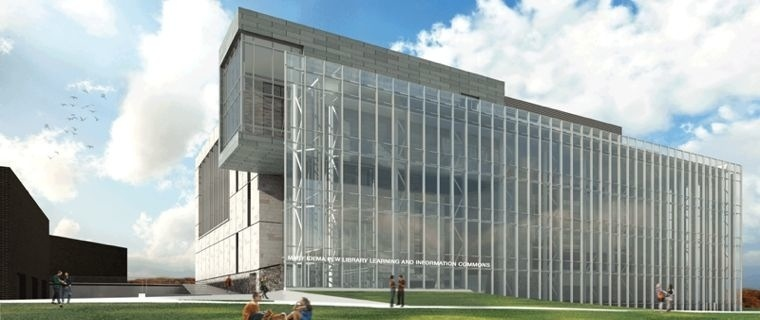 Mary Idema Pew Library Rendering